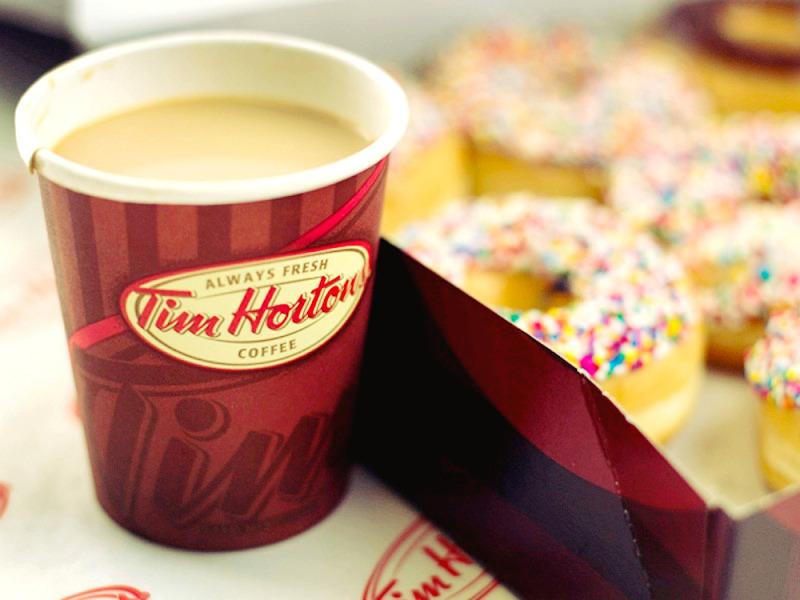 Breakfast in Tim Hortons